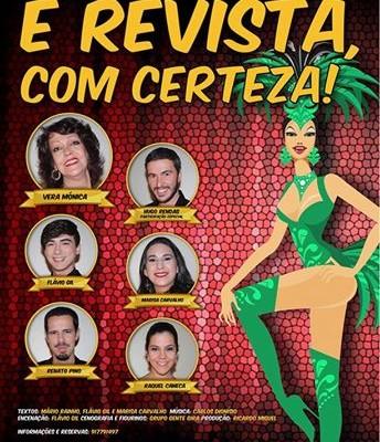 """""""É Revista, com Certeza!"""", com Hugo Rendas"""