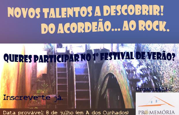 1º Festival de Verão cancelado