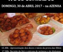 XIX Concurso de Filhós e XIX Mostra de Doçaria