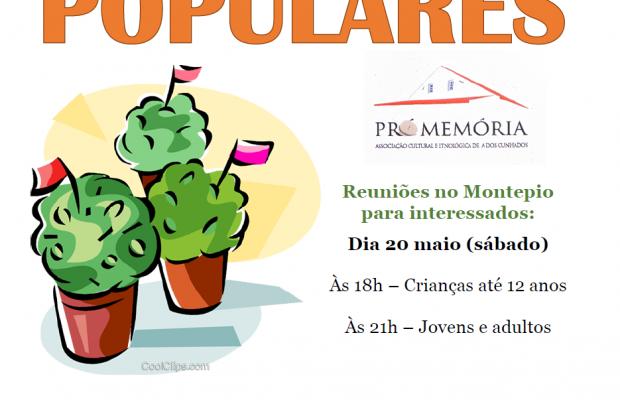 Marchas Populares – Convite a participar
