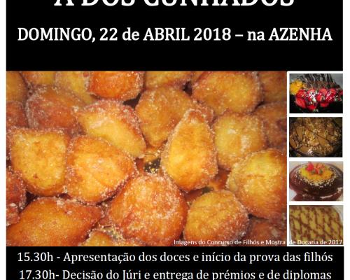 XX Concurso de Filhós e XX Mostra de Doçaria 2018