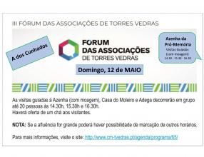 Participação no III Fórum das Associações de Torres Vedras
