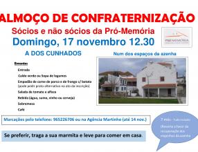 Almoço de Confraternização 17/11/2019