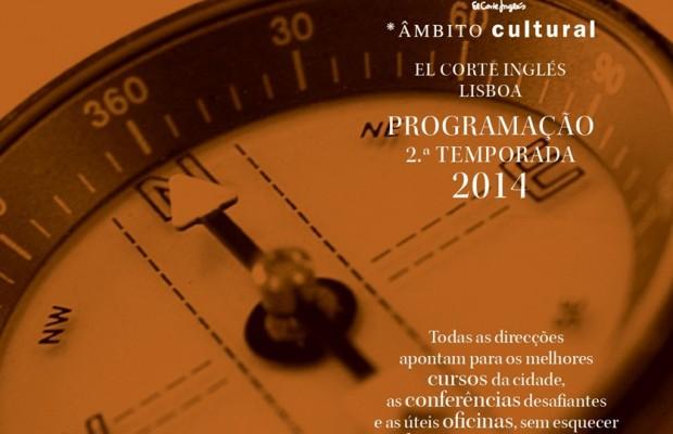 Actividades Gratuitas – Programação 2ªTemporada Âmbito Cultural do El Corte Inglés de Lisboa